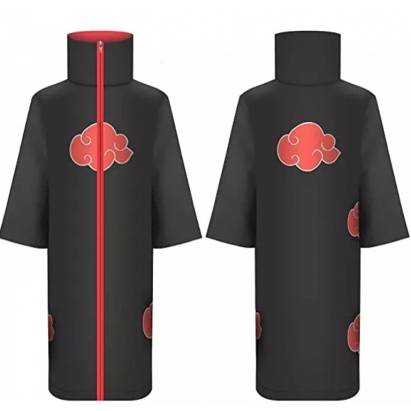 Карнавальный костюм плащ Акацуки черный 993340 Китай