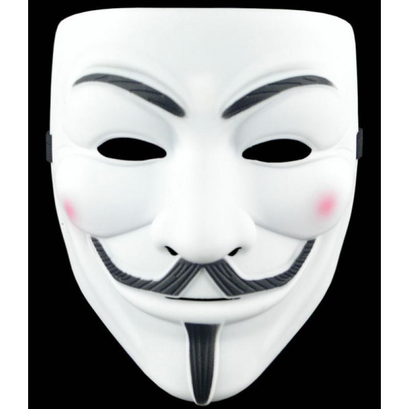 Карнавальный аксессуар, маска АНОНИМУС 993345 Tuanlu Electronic Commerce Co., Ltd