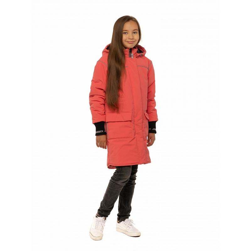 Куртка для девочки парка, коралл М-600/2 Stella's Kids