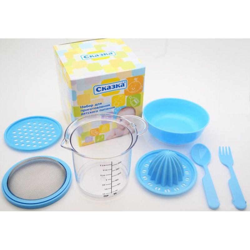 Набор для приготовления детского питания, 7 предметов 3505 Сказка