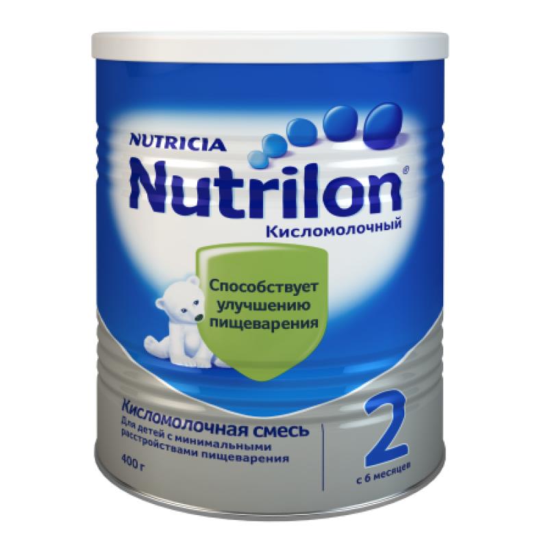Смесь молочная кисломолочный, 6-12мес, 400г 985659 Нутрилон