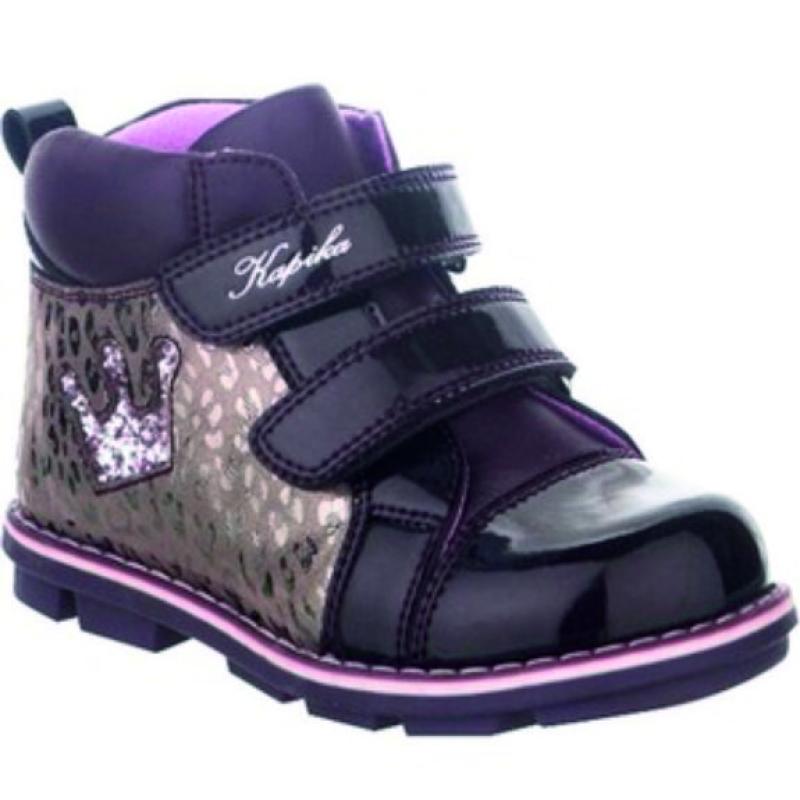 Ботинки для девочки 52227ук-3 Капика