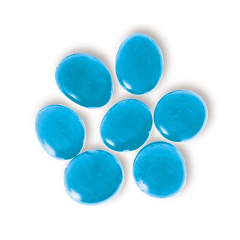 Марблс стеклянные шарики,  голубой кристалл. 360 г. Патибум