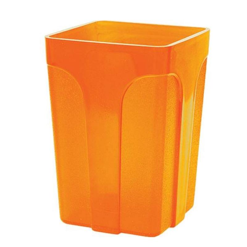 Стакан оранжевый пластик 021684 inФОРМАТ