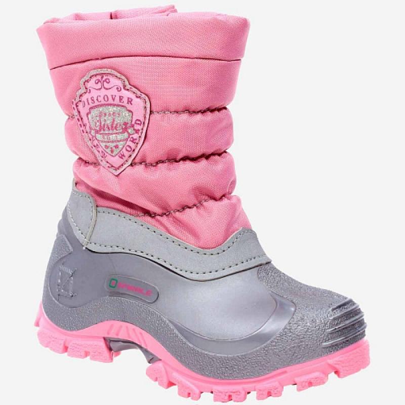 Сапоги для девочки калоша розовый 1317к-2 Капика/Kapika