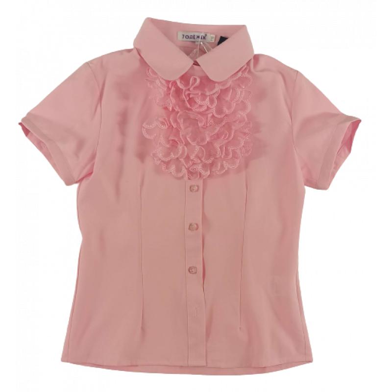 Рубашечка с коротким рукавом для девочки розовый 928S-1. 7 одёжек
