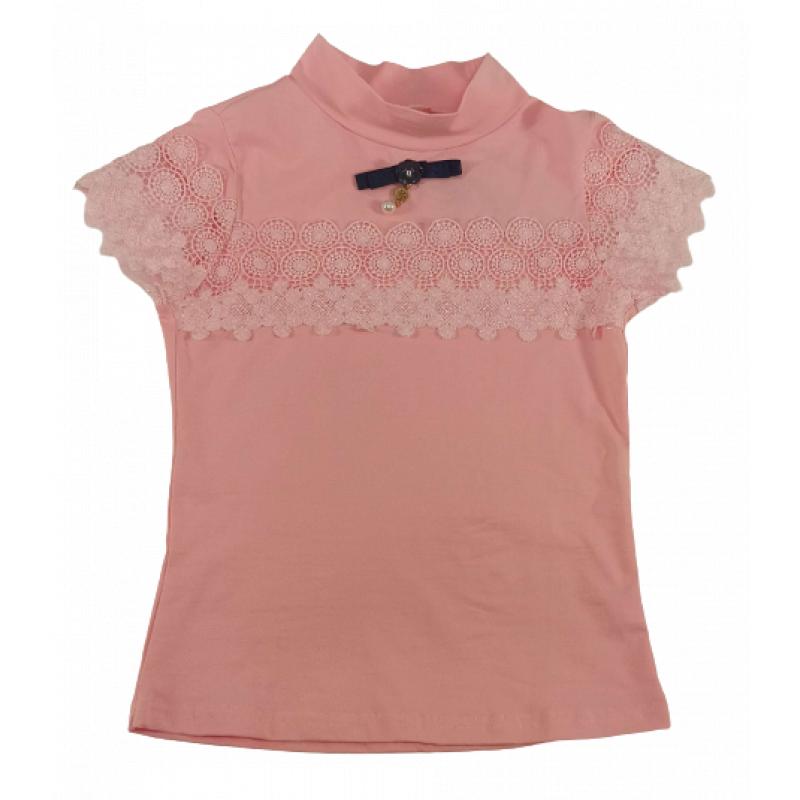 Водолазка для девочки розовый 6428 Vogue