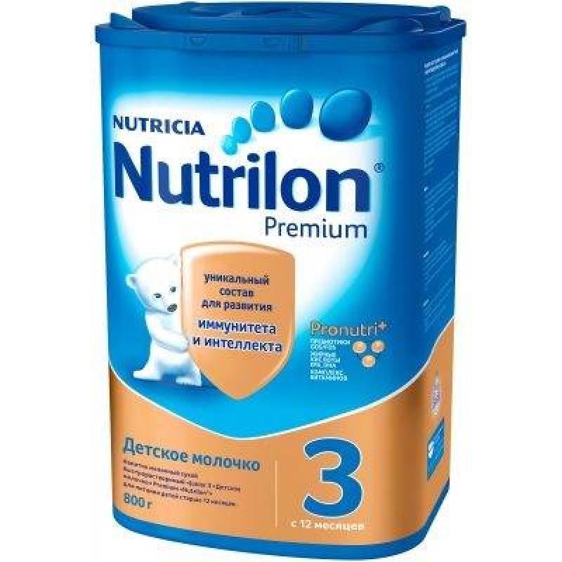 Смесь молочная Нутрилон 3, 12 мес., 800 985696