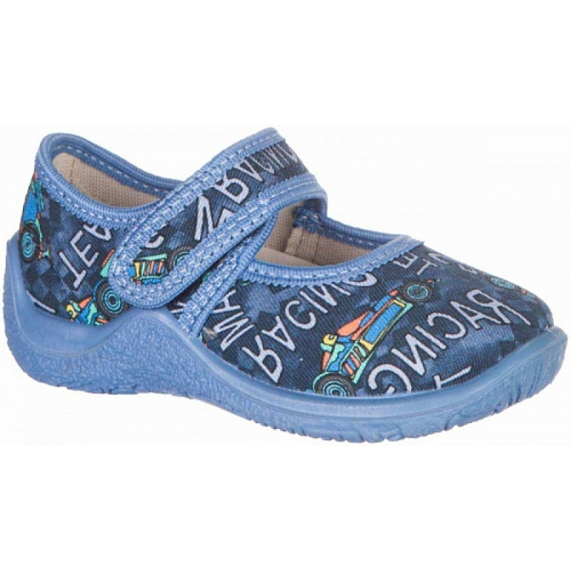 Босоножки для мальчика джинс текстиль 21246ф Капика/Kapika
