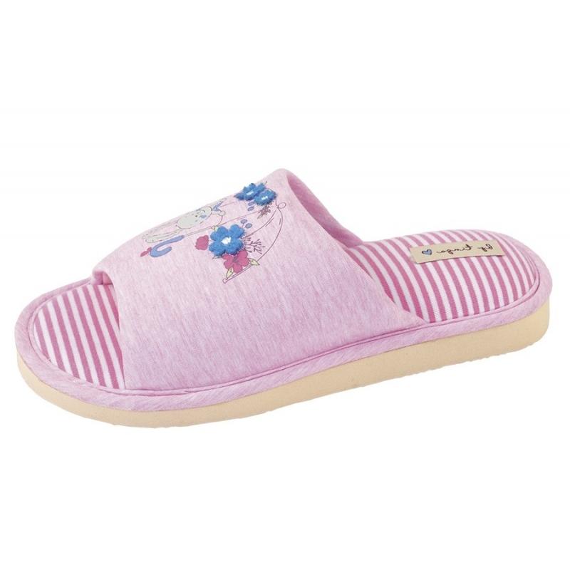 Тапочки домашние для девочки розовый 30424 tingo Россия