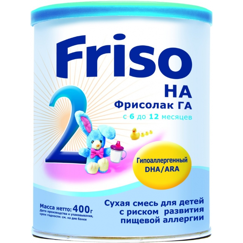 НАН (NAN) ГА-2, гипоаллергенная молочная смесь с 6 до 12 месяцев ... | 800x800