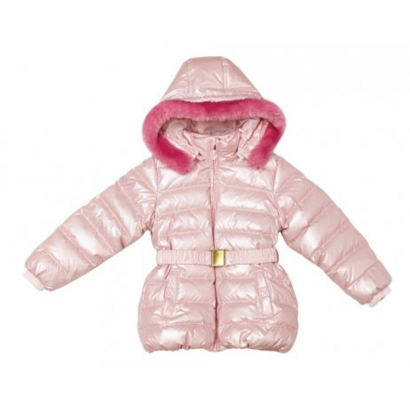 Куртка для девочки пух, зима 332076 PlayToday