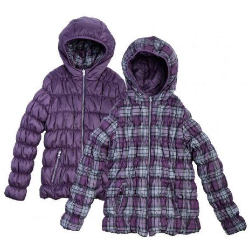 """Куртка для девочки деми двухсторонняя 364110 S""""cool"""