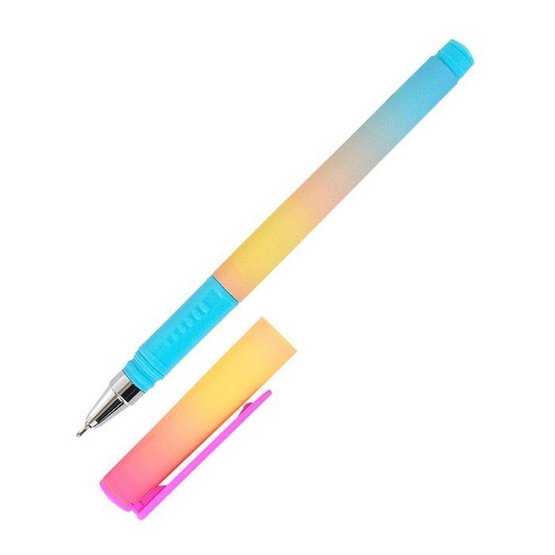 Ручка шариковая синяя 0.7 мм Градиент. 189563 Lorex
