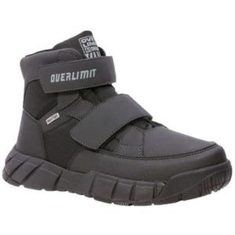 Ботинки для мальчика черные, мембрана 44238-2 Капика/Kapika
