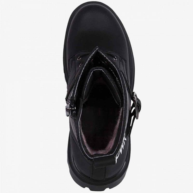 Ботинки для девочки черный 54437ук Капика/Kapika