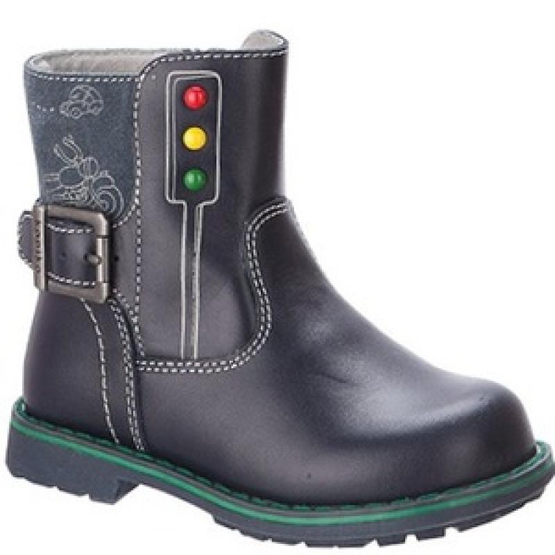 Ботинки для мальчика  52206-1 Капика