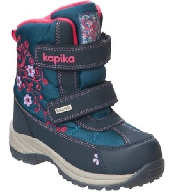 Ботинки для девочки  мембрана 42155-2 Капика