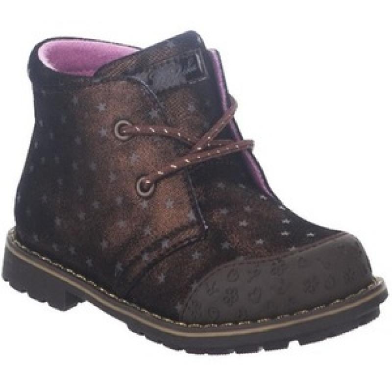 Ботинки для девочки бронза 52270у-2 Капика