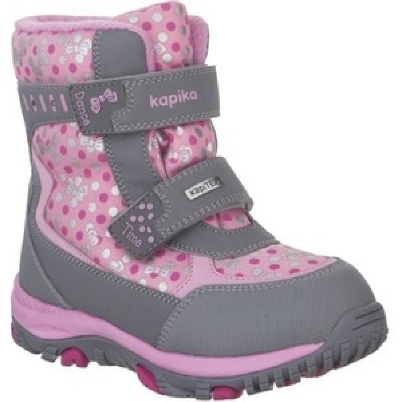 Ботинки для девочки  мембрана 42241-1 Капика