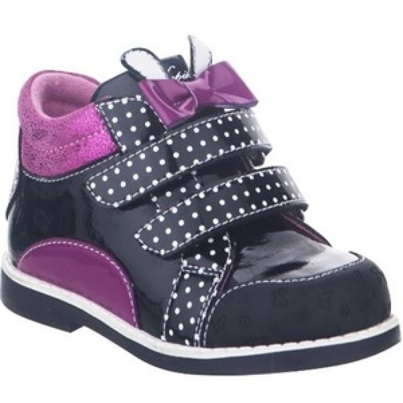 Ботинки для девочки   51240ук-1 Капика