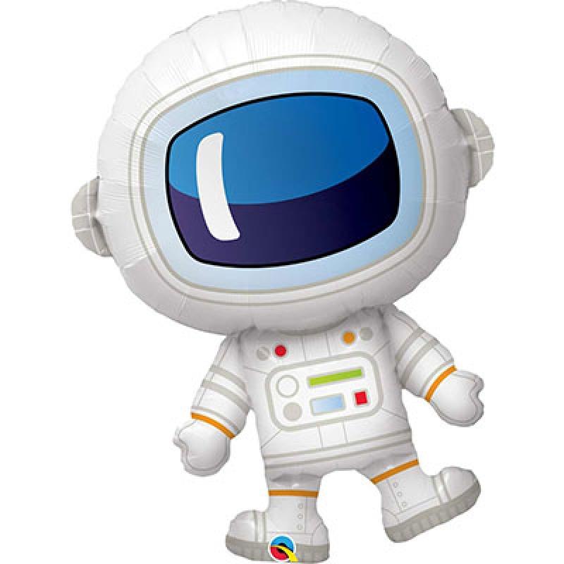 Шар фольгированный с гелием космонавт 57*96см 1207-4440 Flex Metal Испания